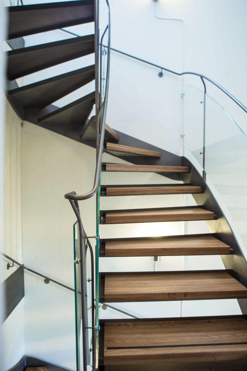 Frihängande trappa Skeppsholmskyrkan