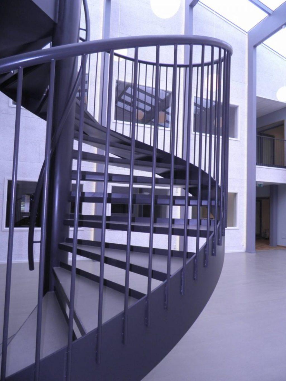 Spiraltrappa i stål - Ejendals
