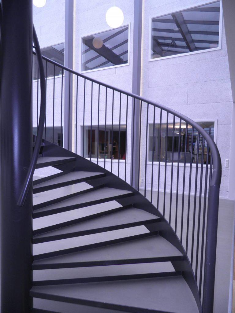 Spiraltrappa i stål 2 - Designtrappan/Ejendal