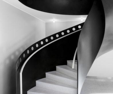 Designtrappa specialanpassad till Filmhuset